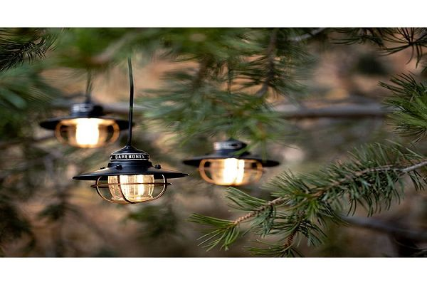 Barebones 串連垂吊營燈Edison String Lights LIV-265/269/267 (黑,古銅, 紅色) 3色可選  售:1950元 1