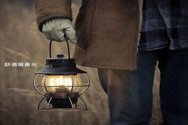 Barebones 手提鐵路復古營燈 Edison Railroad Lamp LIV-280 / LOWDEN(燈具、USB充電、照明設備 售:$2550元 1